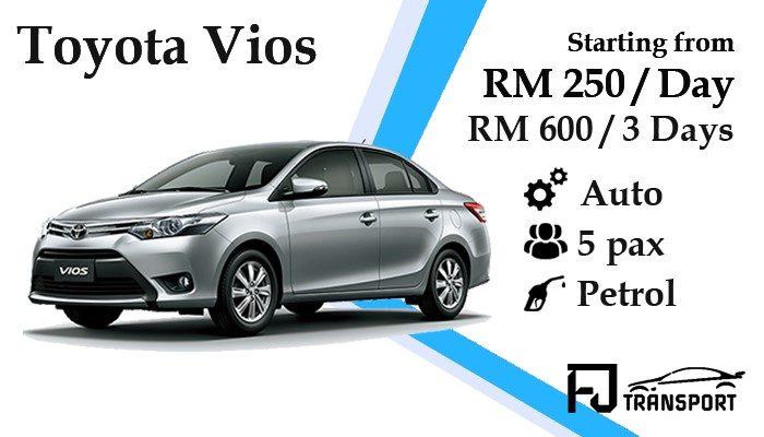 Kuching_car_rental_kereta_sewa_kuching_Fjtransport_Toyota_Vios